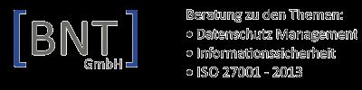Externer Datenschutz,  IT-Security BNT GmbH